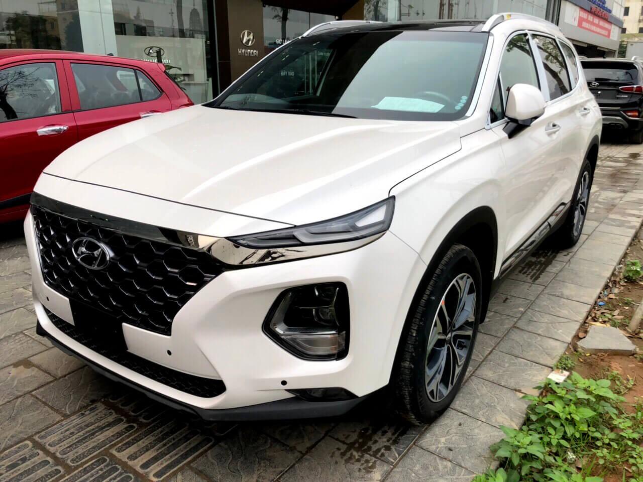 Hyundai Santafe máy xăng
