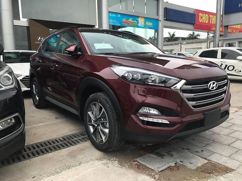 Hyundai Tucson máy dầu